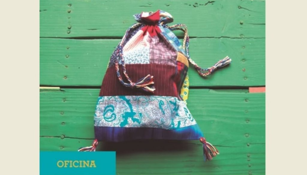 Workshop in Cacela teaches to sew cloth bag with patchwork - Diario diariOnline Região Sul