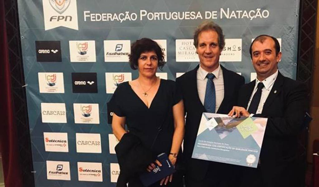 Silves Municipal School of Swimming has received Quality Certification Level 2 from FPN - Jornal diariOnline Região Sul