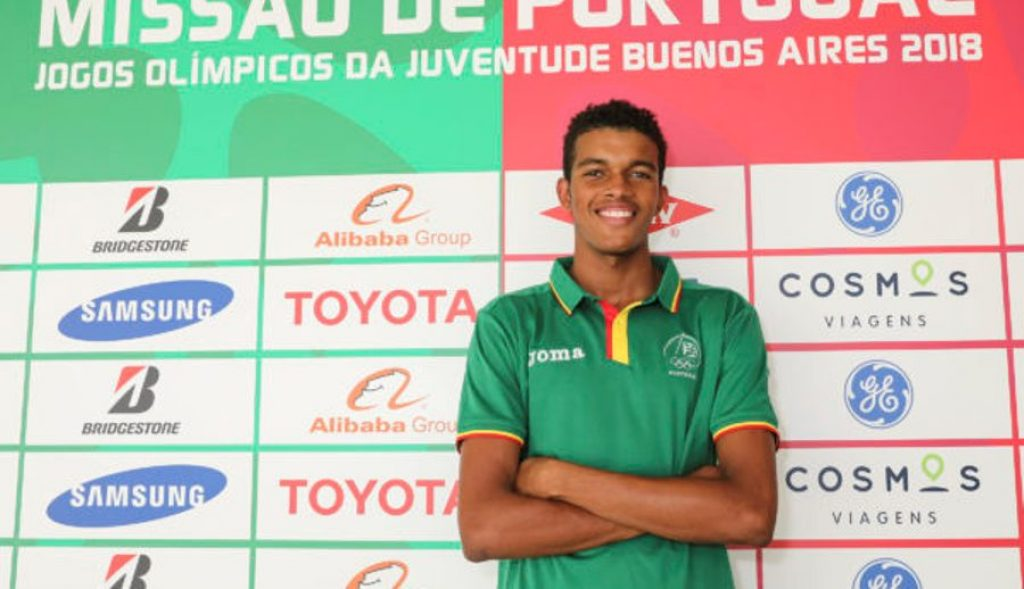 Algarvio Etson Barros is Portugal's flagship at the Youth Olympic Games - Jornal diariOnline Região Sul