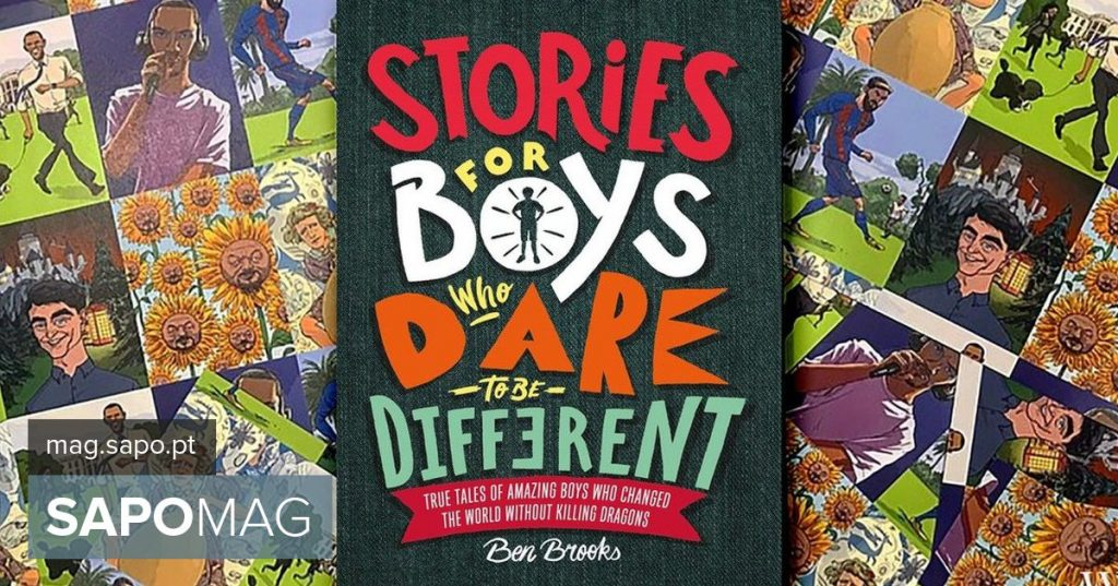 "Book ""Stories for boys who dare to be different"" edited in Portugal - Showbiz"