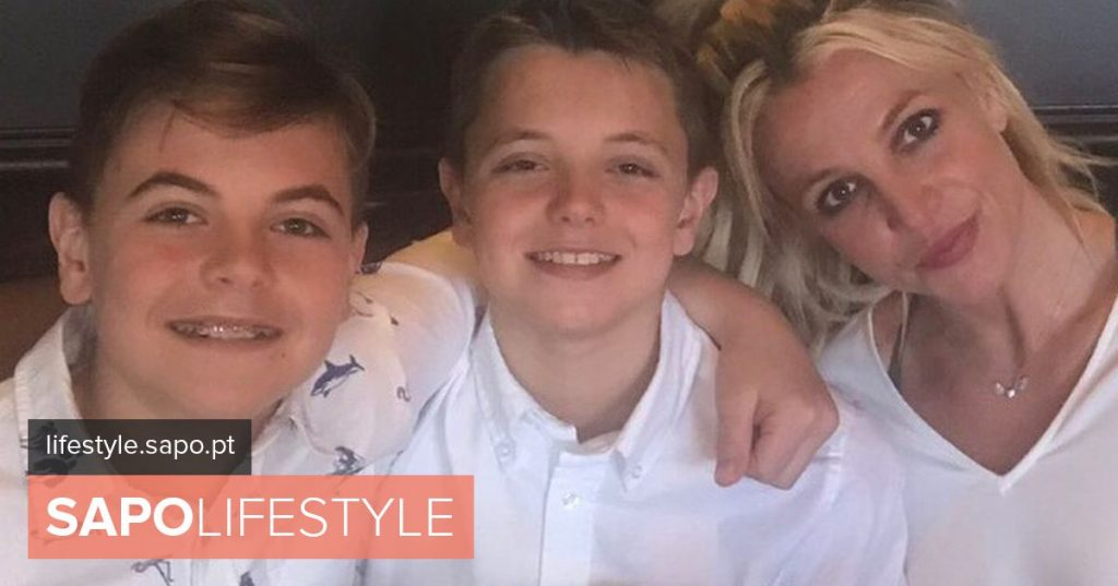 Britney Spears believes son may come to 'shine' as a footballer