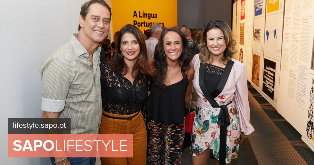 "Known faces inaugurate exhibition ""The Portuguese Language in Us & # 039;"
