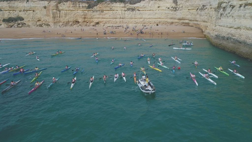 Last stage of the National canoeing of sea joins 180 athletes in Lagoa - Jornal diariOnline Região Sul