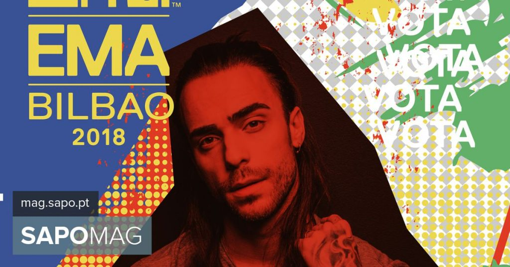 MTV EMAs: We gave time to the Portuguese candidates. Listen to Diogo Piçarra