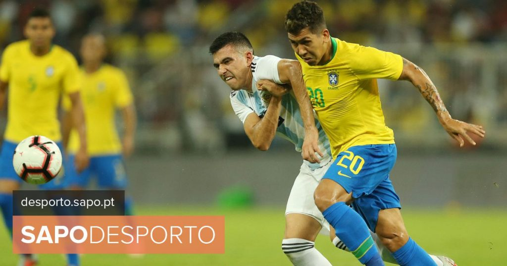 Several portuguese & # 039; on the pitch in Brazil's victory over Argentina