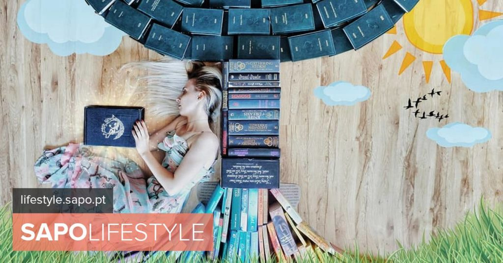 She is passionate about books and uses them to create amazing photographs.
