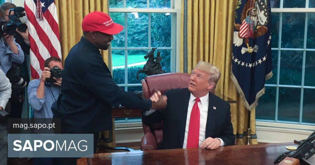 Trump and Kanye West star in unusual meeting at White House - Showbiz