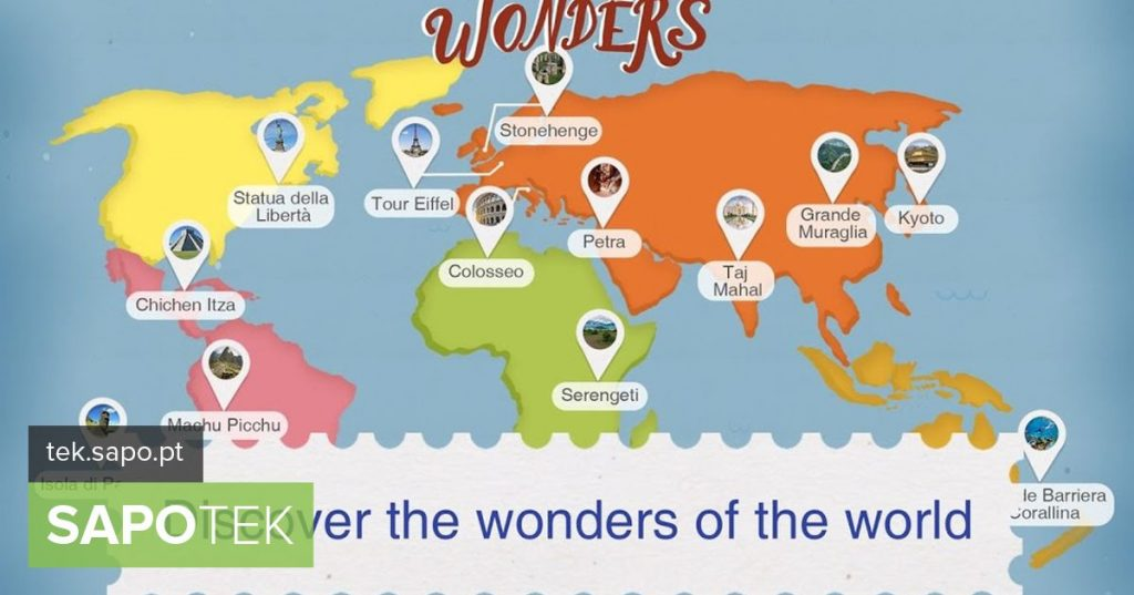 Wonders: an app to discover hidden wonders around the world - Apps