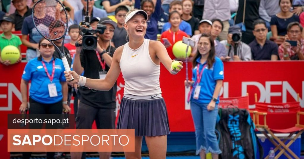 Young Ukrainian tennis player Yastremska wins first WTA career title