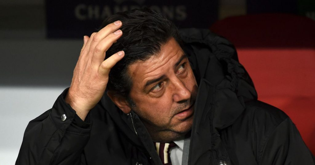 Adepts said goodbye to the players and Rui Vitória with whistles and resignation requests