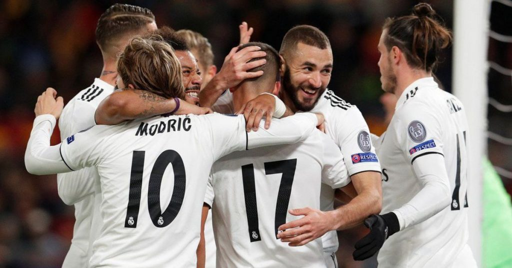 Real Madrid wins in Rome and guarantees 1st place in Group G