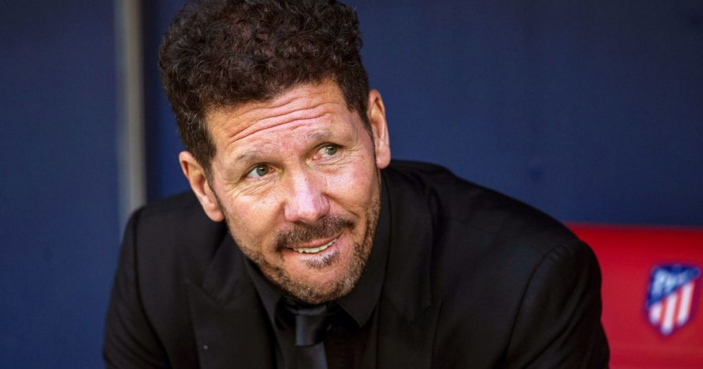 """Simeone praises Griezmann: """"There is no one who perceives football as well as he does"""""""