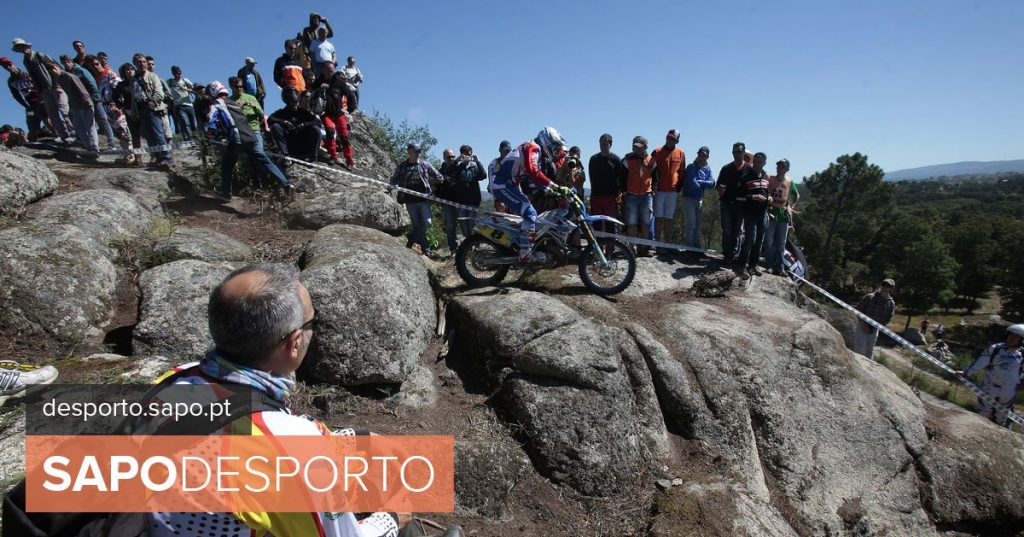 Diogo Vieira in sixth at the start of the Superenduro World Championship