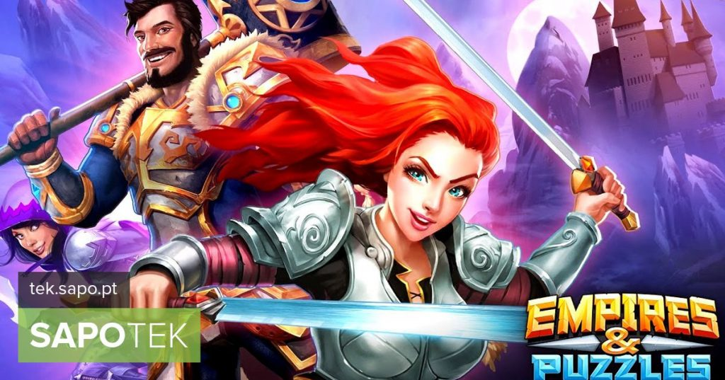 Empires & Puzzles challenges strategy and skill in a game with similarities to Candy Crush - Android