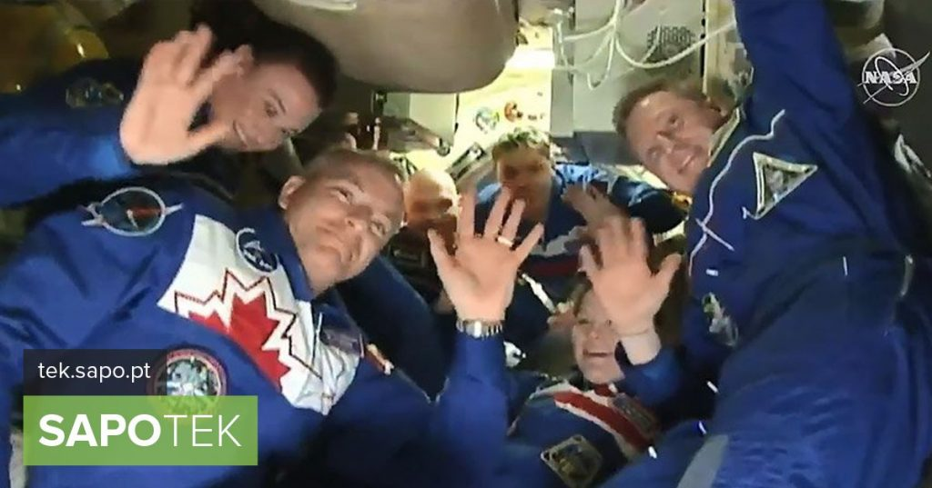 New astronaut team arrives safely at International Space Station - Multimedia