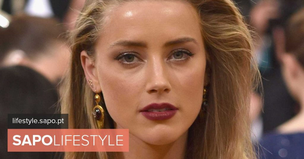 Without bra, Amber Heard gives in the eyes with transparent sweater - Current