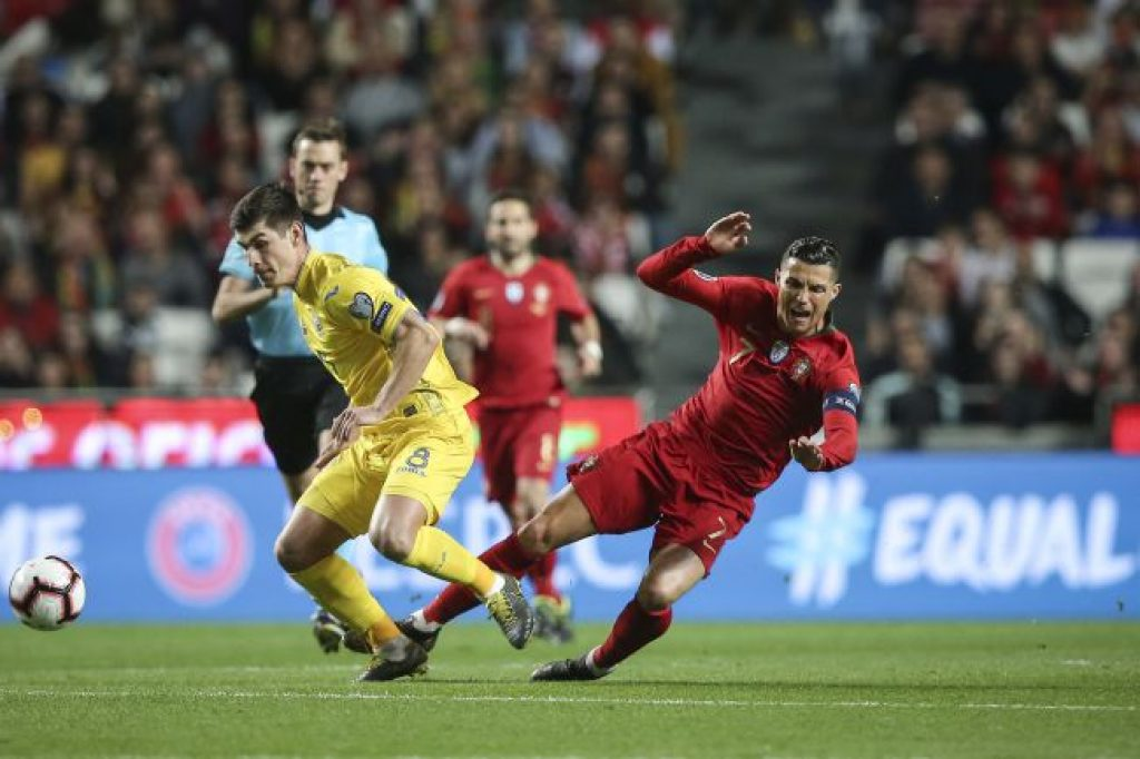 """Portuguese national team started the qualifying round for the European Championship with a """"null"""""""