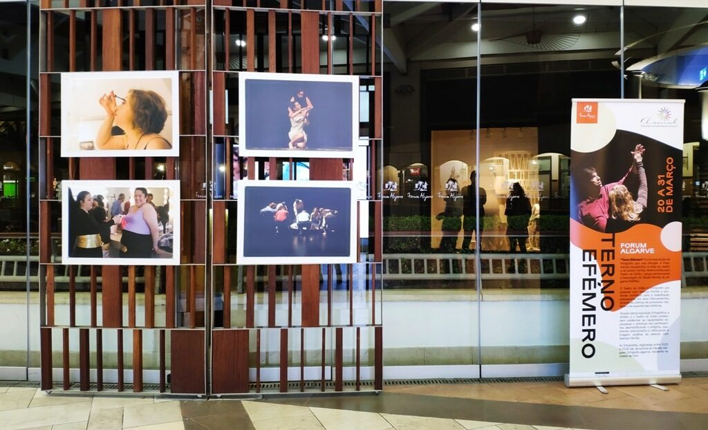 ASMAL marks World Theater Day with photo exhibition at Forum Algarve - Jornal diariOnline Região Sul