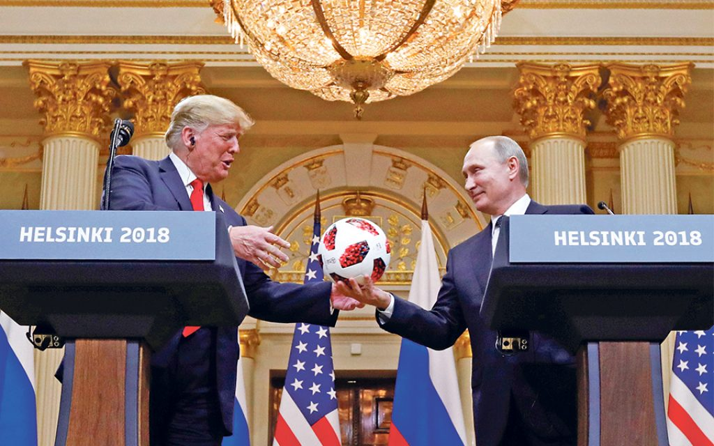 48% of Americans still believe Trump conspired with Putin's Russia - The Economic Journal