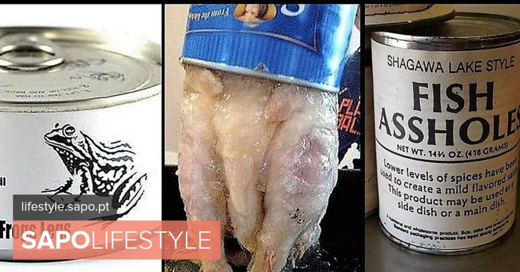 Fish anus and pork mioleira. The most bizarre foods we can find in canning - Current