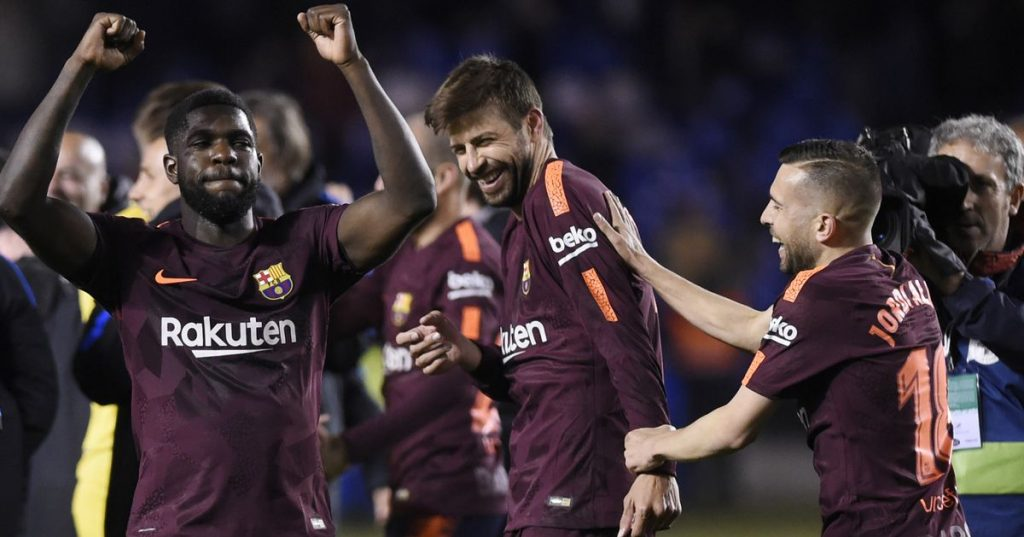 """Piqué: """"How many times have I had sex this month? Do the trips to Bernabéu count?"""""""