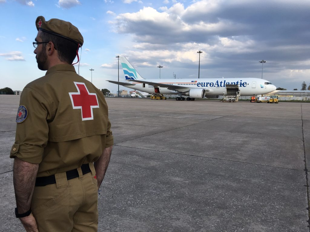 Portuguese Red Cross plane already landed in Mozambique - The Economic Journal