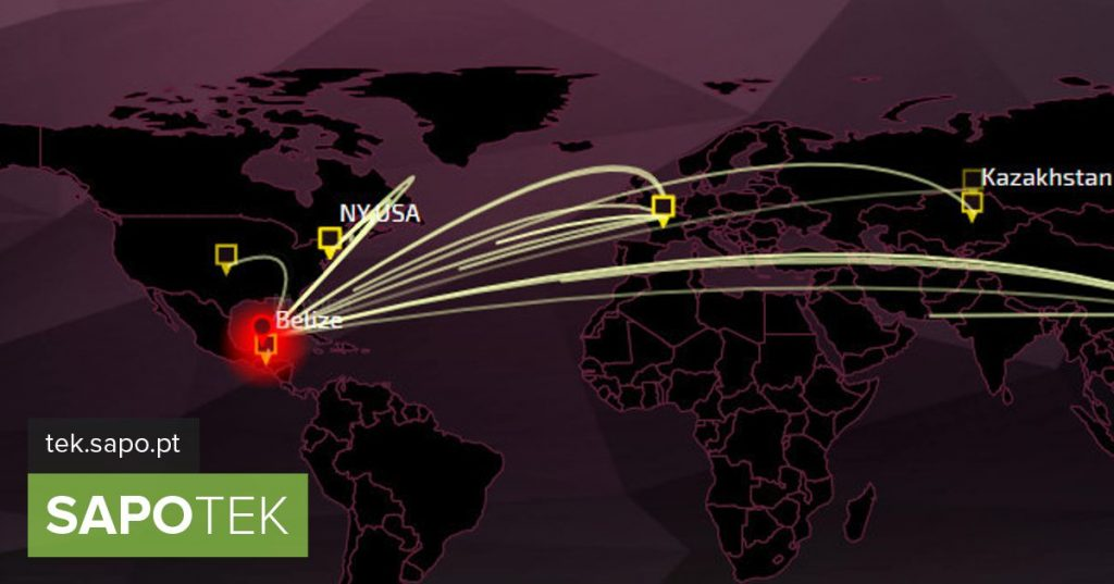Threat Map: Watch cyber attacks in real time - Site of the day