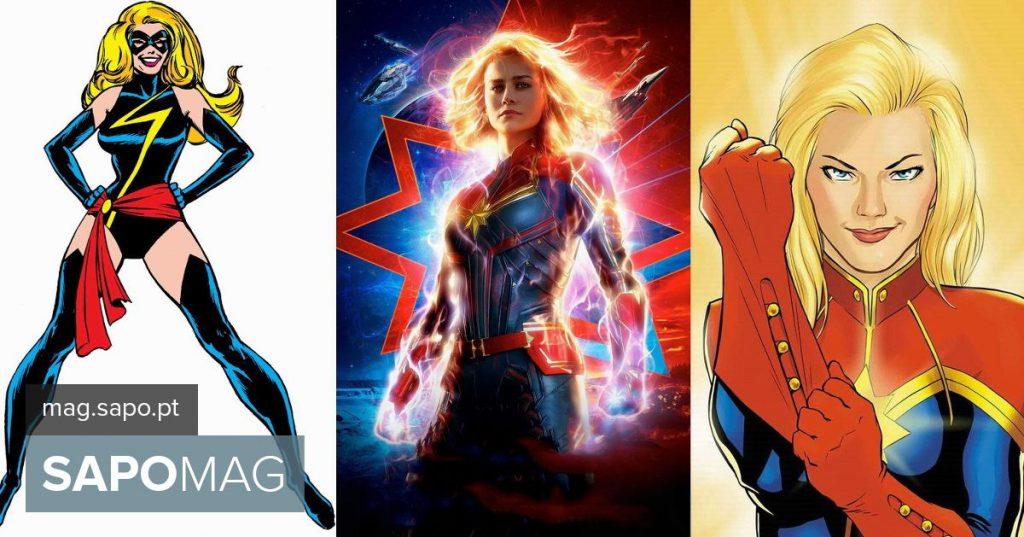 """""""Captain Marvel (Captain Marvel)"""" - Who's Who in the BD and in the movie"""