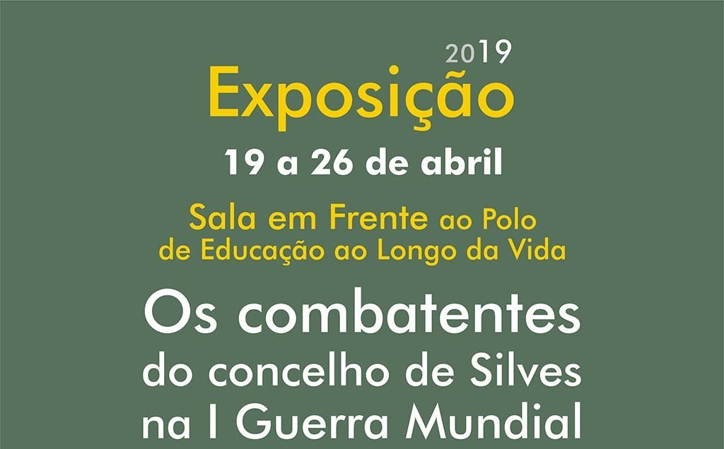 """Exhibition """"The Combatants of the Municipality of Silves in World War I"""" is shown in Silves - Jornal diariOnline Região Sul"""