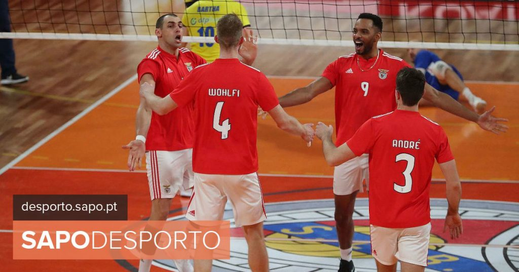 Benfica equals final of National volleyball with victory against Sporting - Modalities