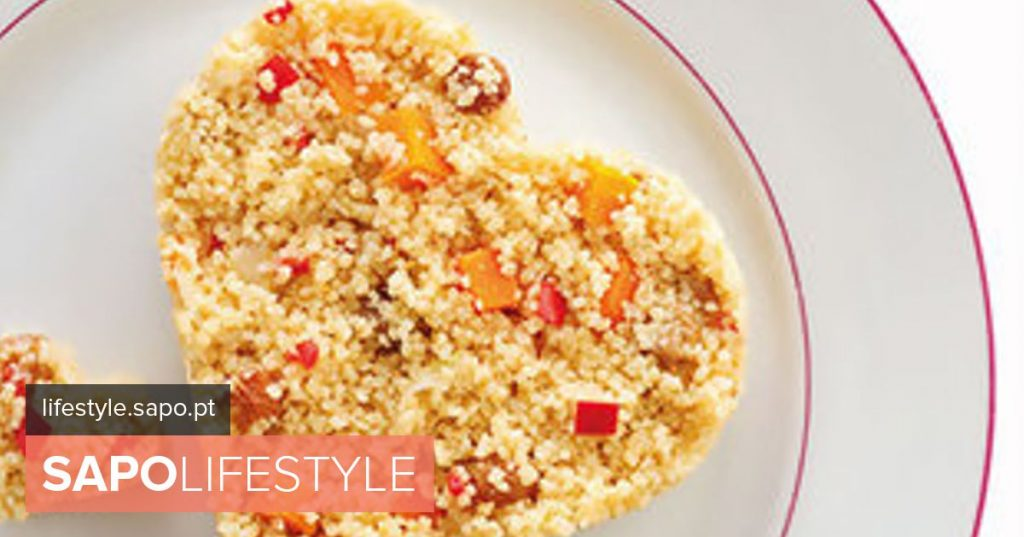 Couscous with sauteed vegetables