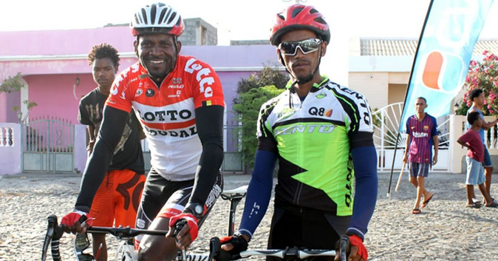 Cycling / Cape Verde: Four cyclists participate in the festivities of the municipality of São Filipe