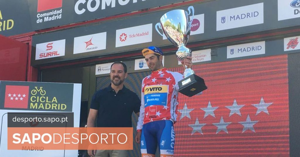 Edgar Pinto in fifth in a Tour of Turkey won by Grossschartner