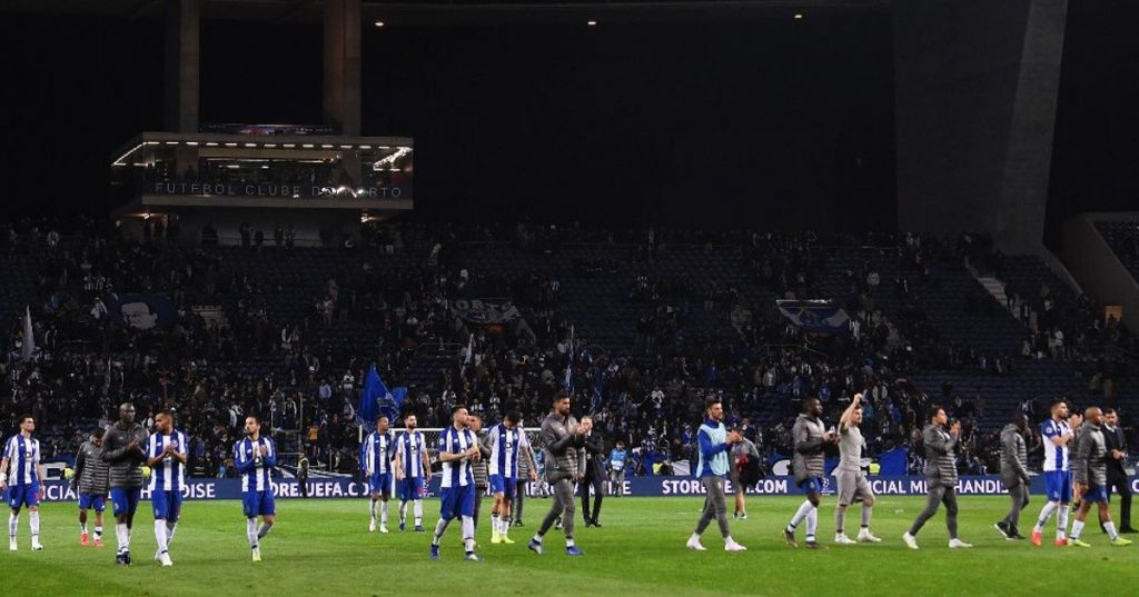 FC Porto were the Portuguese team that contributed most to the ranking of UEFA - Football