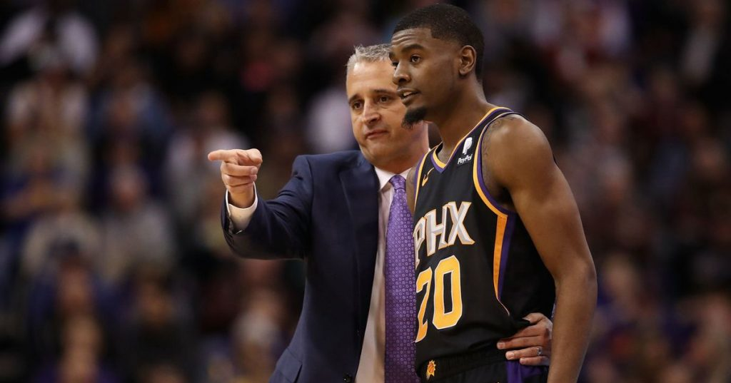 Phoenix Suns dismiss first born coach in Europe in NBA history