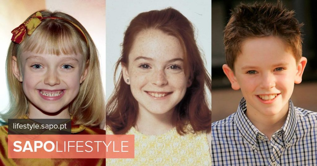 The before and after of the actors who began their careers in childhood