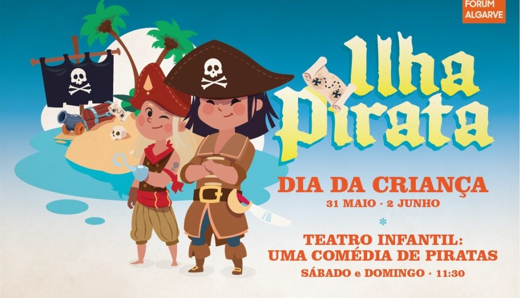 «Pirate Island» encourages the youngest in the Forum Algarve - Jornal diariOnline Região Sul