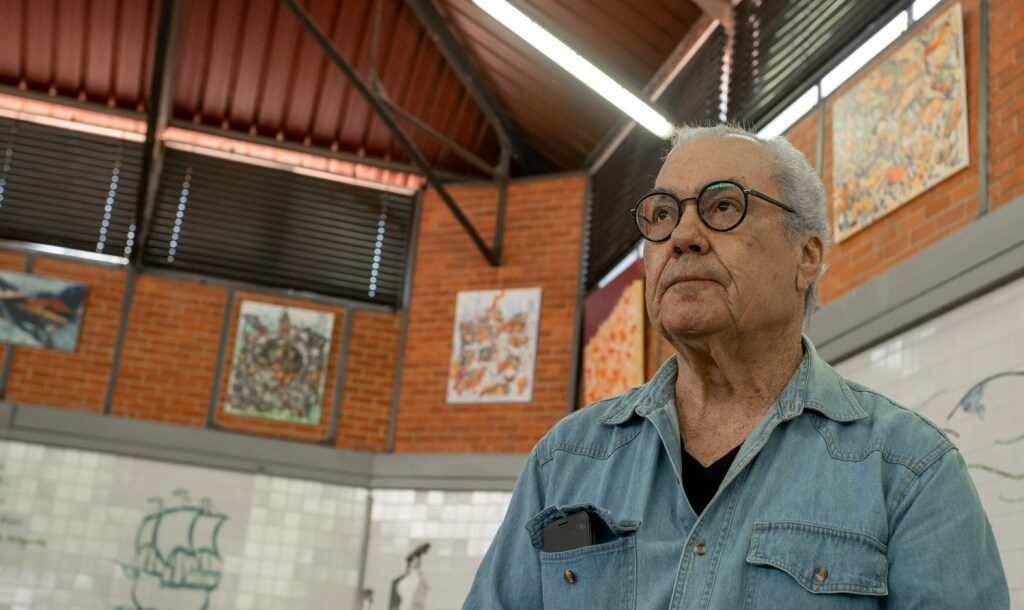 Painting exhibition marks anniversary of the Markets of Olhão - Jornal diariOnline Região Sul