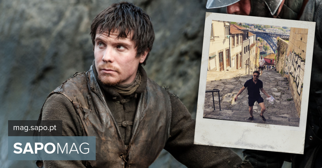 """Joe Dempsie: Gendry of """"The War of the Thrones"""" on vacation in Porto"""
