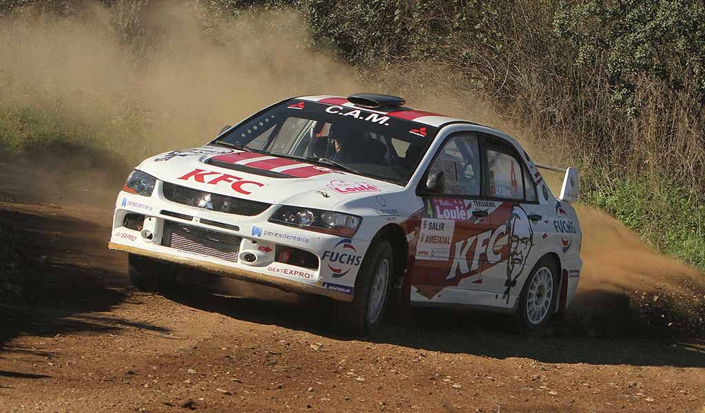 Fernando Peres did not give a chance and won Alcoutim Rally - Diario diariOnline Região Sul