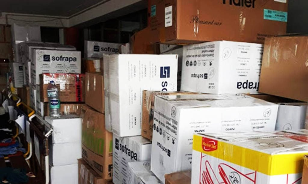"""5 tons of goods and products raised by """"Lar da Criança"""" on the way to Mozambique - Jornal diariOnline Região Sul"""