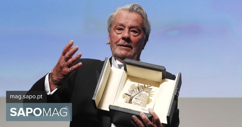 Alain Delon honored at Cannes Film Festival, feminist protests at door