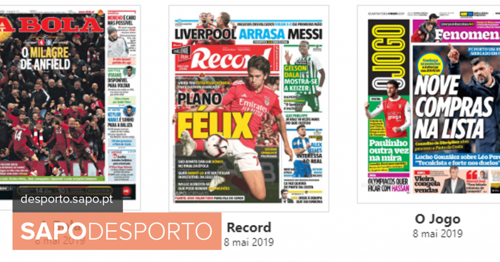 Anfield miracle, Felix plan and FC Porto buy list highlighted in the press - Football