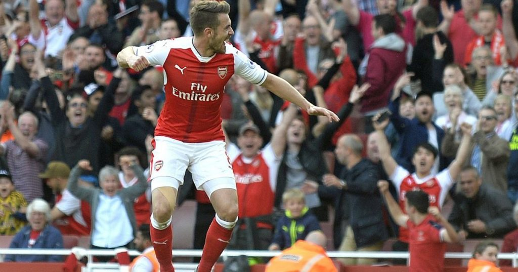 Arsenal's emotional Ramsey farewell letter