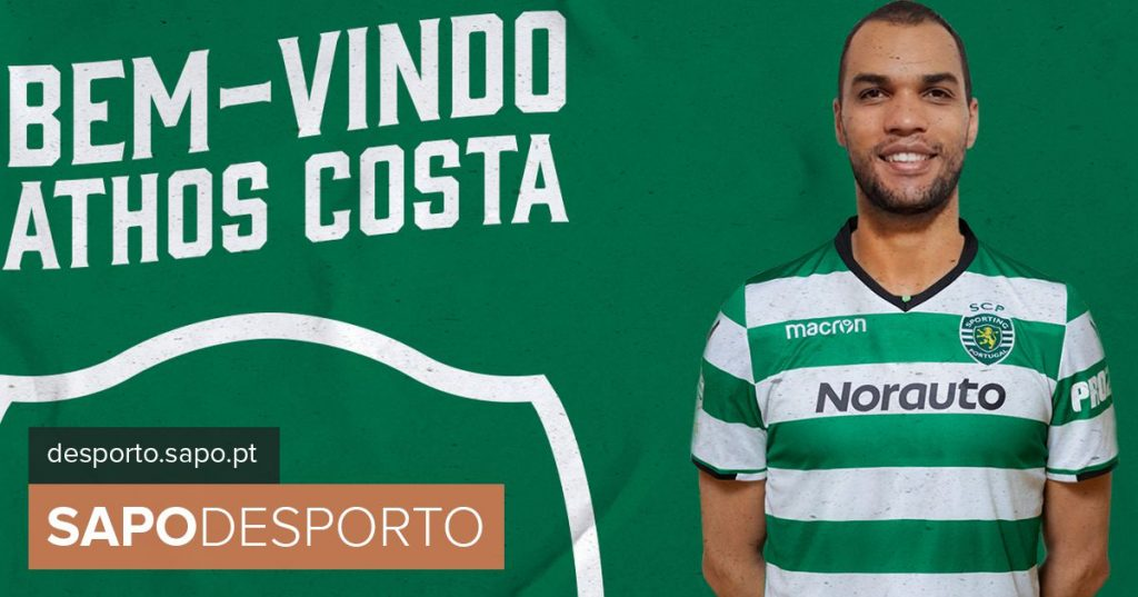 Athos Costa reinforces Sporting volleyball - Modalities