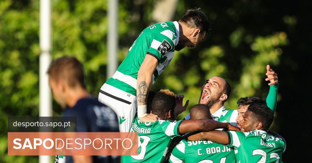 Belenenses SAD 1-8 Sporting: Muriel's expulsion has whetted the appetite of a lion & # 039; insatiable