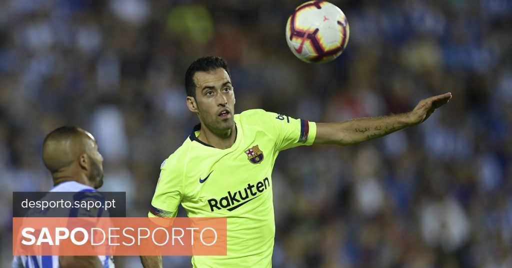 """Busquets: """"I apologize to the fans, because after Rome they come through this again"""""""