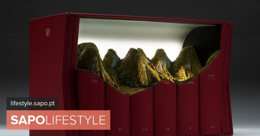 Canadian artist sculpts grandiose landscapes in old encyclopedias and bibles - News
