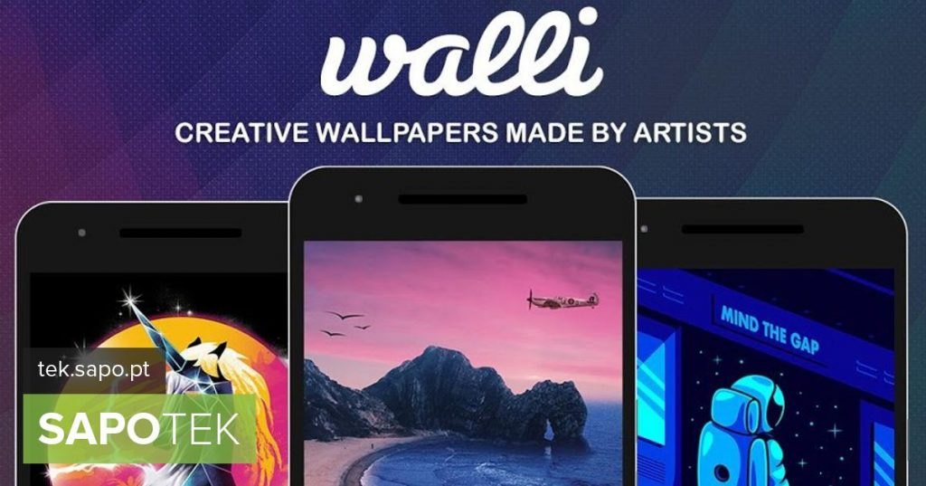 Discover unique wallpapers for your smartphone with Walli - Android