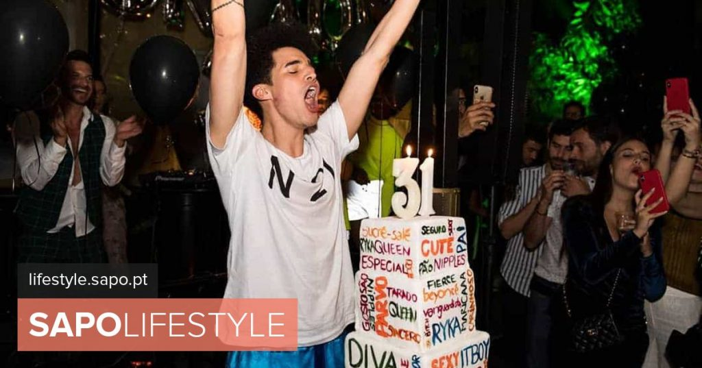 Endless madness: There are new photos of Luís Borges's birthday party
